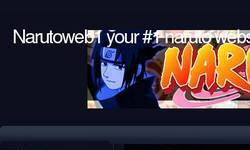 Screenshot of Narutoweb1
