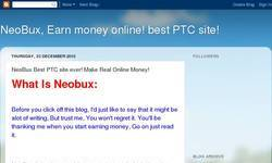 Screenshot of NeoBux Best PTC Site Ever