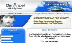 Screenshot of Donate my car to charity