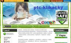 Screenshot of ptc-klikacky