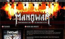 Screenshot of manowar.com