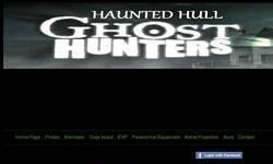 Screenshot of hull paranormal ghost club