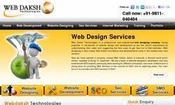 Screenshot of webdaksh