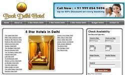 Screenshot of book delhi hotel