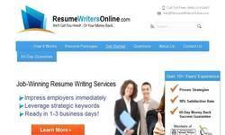 Screenshot of resumewritersonline