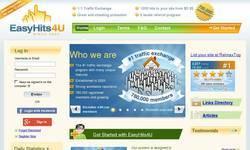 Screenshot of EasyHits4U Traffic Exchange