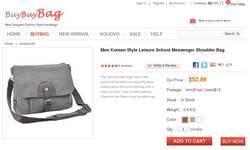 Screenshot of www.buybuybag.com