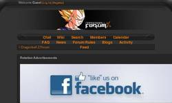 Screenshot of Dragonball Z Forum