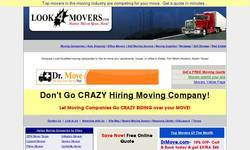 Screenshot of Compare Moving Companies