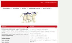 Screenshot of tesis