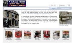 Screenshot of A Junkee Shoppe Ecrater