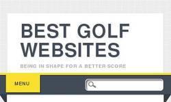 Screenshot of Best Golf Websites