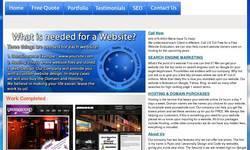 Screenshot of websitesforless