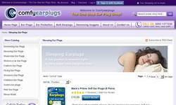 Screenshot of Ear plugs for sleeping