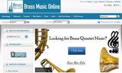 Screenshot of Brass Music Online
