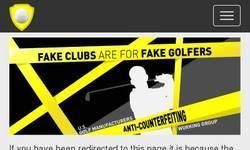 Screenshot of golf club