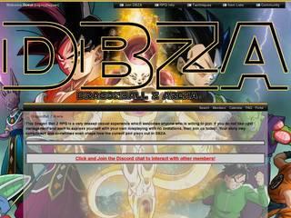 Screenshot of Dragonball Z Arena