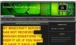 Screenshot of Fundash's SMP Server