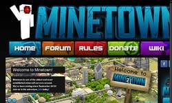 Screenshot of Minetown - Mining since 09/2010 !