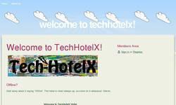 Screenshot of TechHotelX