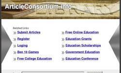 Screenshot of this site