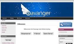 Screenshot of Savanger