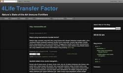 Screenshot of Transfer Factor