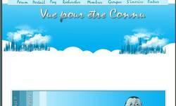 Screenshot of Vue pour �tre connu