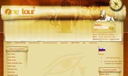 Screenshot of One Tour Travel Egypt
