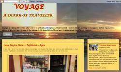 Screenshot of VOYAGE - A DIARY OF TRAVELLER