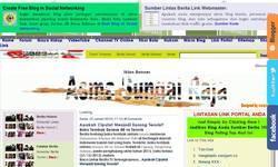 Screenshot of Lintas Link Berita Terbaru