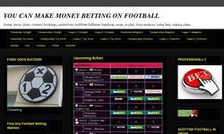 Screenshot of make your football bets pay