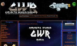 Screenshot of GalacticWorldRadio