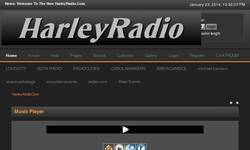 Screenshot of Harley Radio