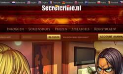 Screenshot of SecretCrime.nl