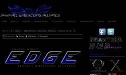 Screenshot of Skyfall Wrestling Alliance