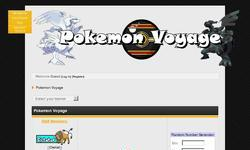 Screenshot of Pokemon Voyage