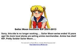Screenshot of Sailor Moon Institute