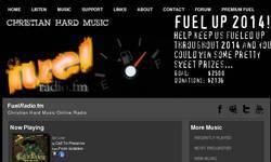 Screenshot of Fuel Radio - Christian Hard Music