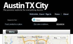 Screenshot of Austin TX City