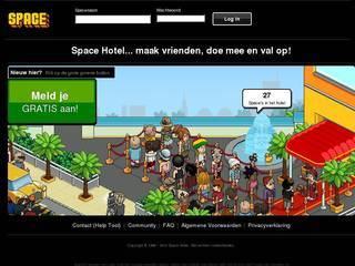Screenshot of Spacehotel | Gratis credits | Altijd Online | 24/7 Radio