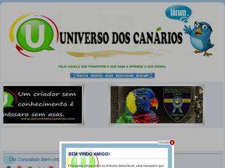 Screenshot of UNIVERSO DOS CANARIOS