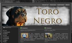 Screenshot of Rottweilers Kennel Toro Negro FCI Hodowla Rottweiler