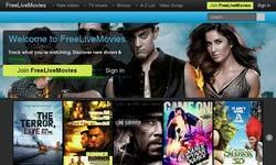 Screenshot of Watch free live movies | freelivemovies.net
