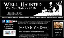 Screenshot of Well Haunted Paranormal Events