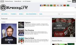 Screenshot of Krazzy TV