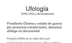 Screenshot of Ufolog�a