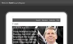 Screenshot of The WWE