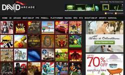 Screenshot of DavidArcade.com