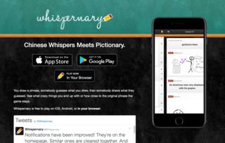 Screenshot of Whispernary
